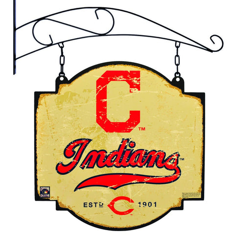 "Shop Cleveland Indians Winning Streak Retro 1970 Tavern Pub Bar Metal Sign (16""x16"")"