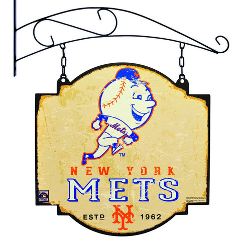 "New York Mets Winning Streak Batting Practice Logo Tavern Pub Bar Sign (16""x16"")"
