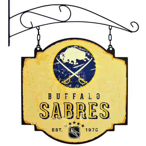 "Buffalo Sabres Winning Streak Vintage Tavern Pub Bar Metal Sign (16""x16"")"