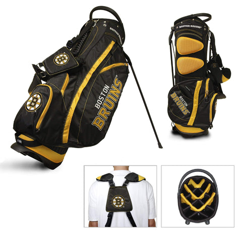 Boston Bruins Team Golf Fairway Lightweight 14-Way Top Golf Club Stand Bag