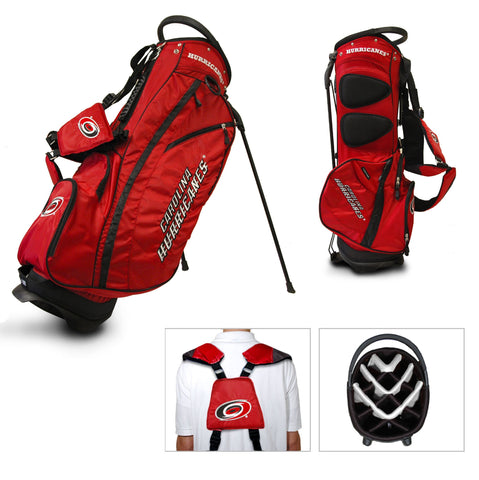 Carolina Hurricanes Team Golf Fairway Lightweight 14-Way Top Golf Club Stand Bag