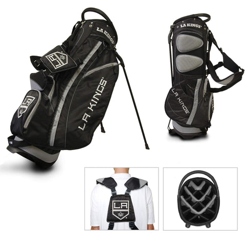 Los Angeles Kings Team Golf Fairway Lightweight 14-Way Top Golf Club Stand Bag