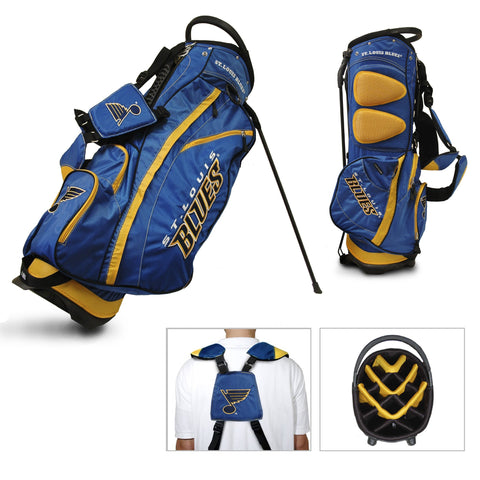 St. Louis Blues Team Golf Fairway Lightweight 14-Way Top Golf Club Stand Bag