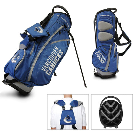 Vancouver Canucks Team Golf Fairway Lightweight 14-Way Top Golf Club Stand Bag