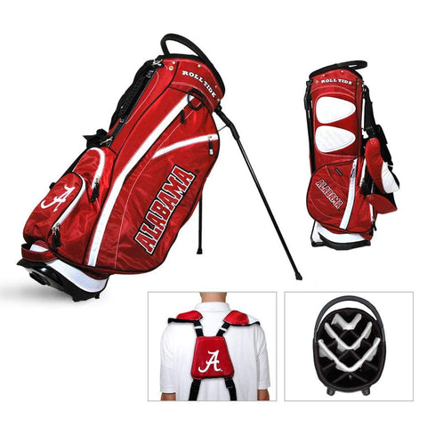 Alabama Crimson Tide Team Golf Fairway Light 14-Way Top Golf Club Stand Bag