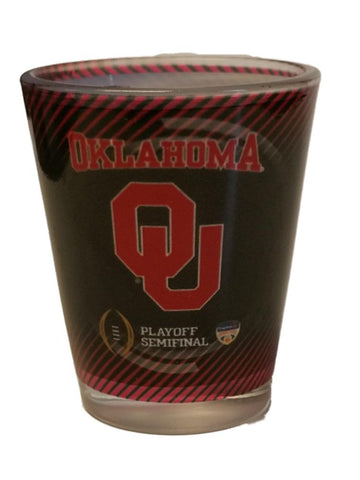 Shop Oklahoma Sooners 2015 College Football Playoffs Sublimated 2 oz. Shot Glass