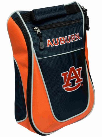 Auburn Tigers Team Golf Navy Orange Zippered Carry-On Golf Shoes Travel Bag