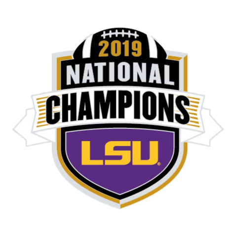 LSU Tigers 2019-2020 CFP National Champions WinCraft Collectible Lapel Pin - Sporting Up