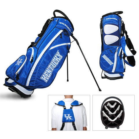 Kentucky Wildcats Team Golf Fairway Lightweight 14-Way Top Golf Club Stand Bag