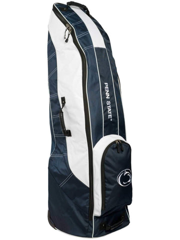 Penn State Nittany Lions Team Golf Navy Golf Clubs Wheeled Luggage Travel Bag