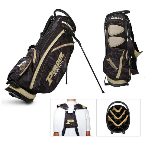 Purdue Boilermakers Team Golf Fairway Lightweight 14-Way Top Golf Club Stand Bag