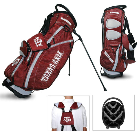 Texas A&M Aggies Team Golf Fairway Lightweight 14-Way Top Golf Club Stand Bag