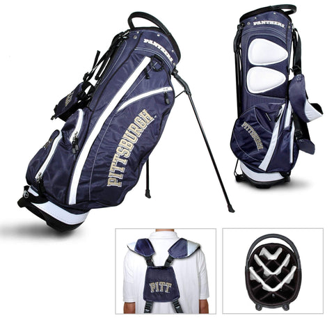 Pittsburgh Panthers Team Golf Fairway Lightweight 14-Way Top Golf Club Stand Bag