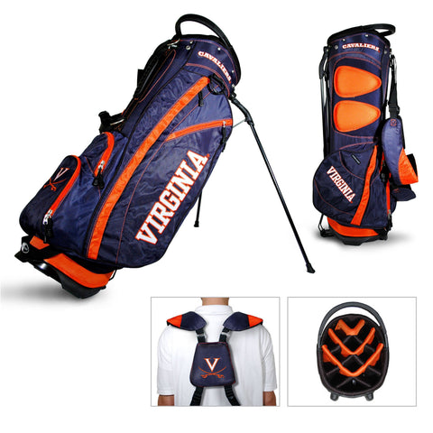 Virginia Cavaliers Team Golf Fairway Lightweight 14-Way Top Golf Club Stand Bag