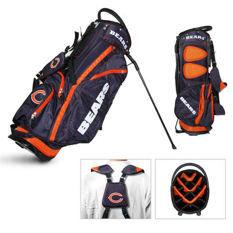 Chicago Bears Team Golf Fairway Lightweight 14-Way Top Golf Club Stand Bag