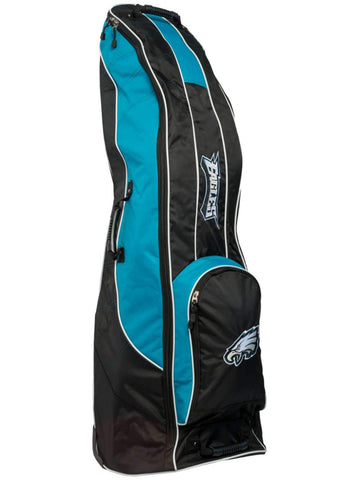 Philadelphia Eagles Team Golf Black Golf Clubs Wheeled Luggage Travel Bag