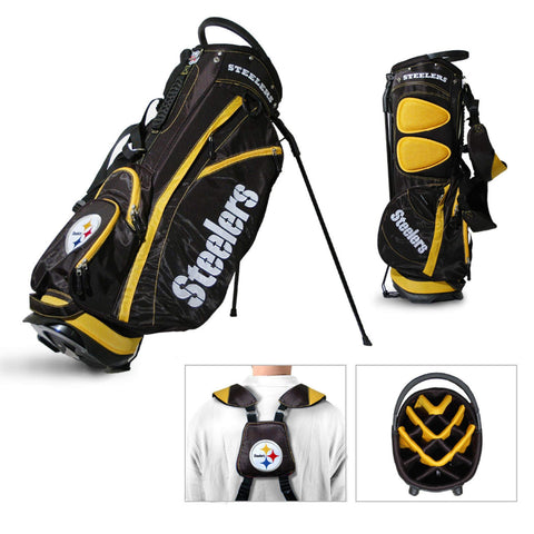 Pittsburgh Steelers Team Golf Fairway Lightweight 14-Way Top Golf Club Stand Bag