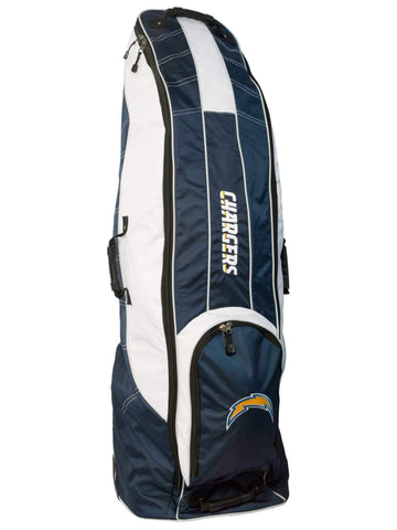 San Diego Chargers Team Golf Navy Golf Clubs Wheeled Luggage Travel Bag