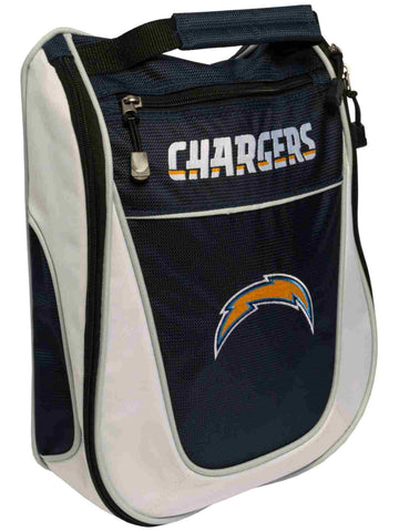 San Diego Chargers Team Golf Navy White Zippered Carry-On Golf Shoes Travel Bag
