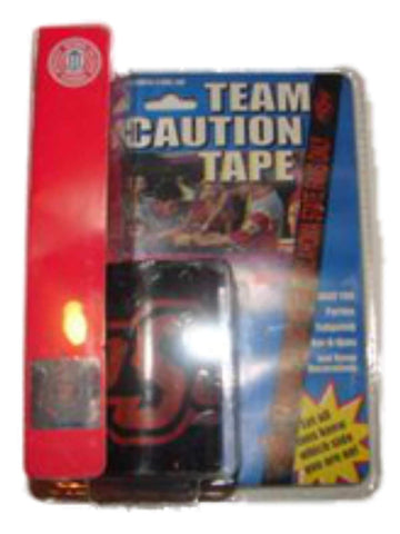 Shop Oklahoma State Cowboys Team Caution Tape Black (50ft)