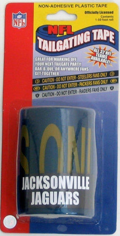 Jacksonville Jaguars NFL Caution Tailgating Tape (50ft)