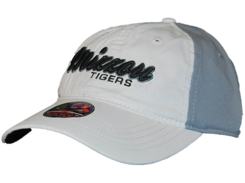 Shop Missouri Tigers Hat Cap Top of the World White Gray Relax Adjustable
