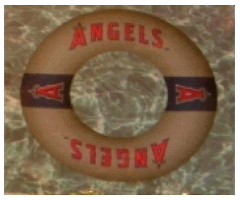 "Los Angeles Angels of Anaheim Officially Licensed Swim Ring (24"") - Sporting Up"