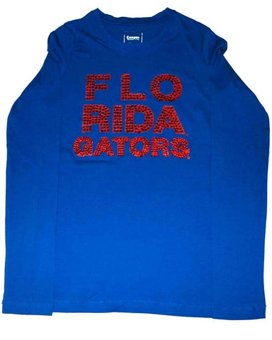 Florida Gators Women's Long Sleeve Shirt Campus Couture Blue (S)