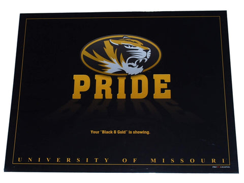 "Shop Missouri Tigers Inspirations ''Pride"" Ready to Frame Black Print 16 X 20"