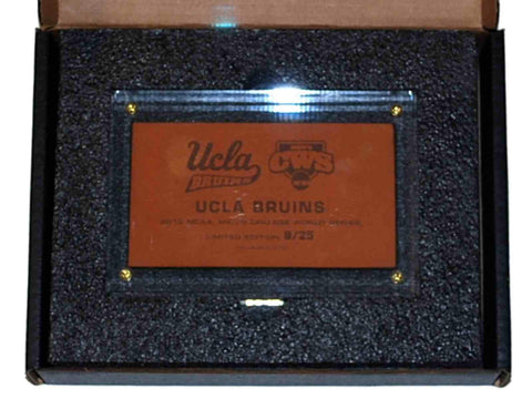Shop UCLA Bruins 2012 College World Series Limited Edition Leather Clear Plaque