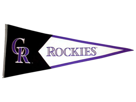 "Colorado Rockies MLB Classic Winning Streak Pennant (17.5"", x 40.5"")"