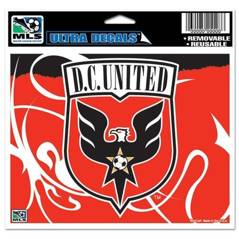 Shop DC United MLS WinCraft Sports Removable Ultra Decal / Bumper Sticker