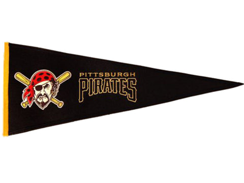 "Pittsburgh Pirates MLB Winning Streak Traditions Wool Pennant (13"" x 32"")"