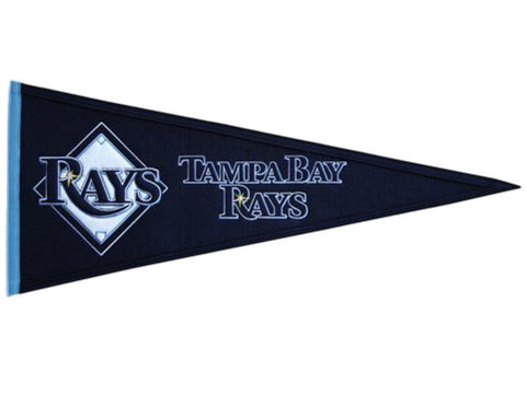 "Tampa Bay Rays MLB Winning Streak Traditions Wool Pennant (13"" x 32"")"