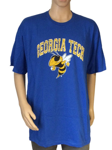 Georgia Tech Yellow Jackets Victory Blue Calvin Johnson #21 Player T-Shirt