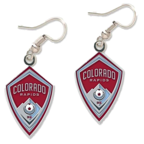Shop Colorado Rapids MLS WinCraft Sports Nickel Free Dangle Earrings
