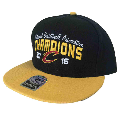 Cleveland Cavaliers 47 Brand 2016 NBA Finals Champions Snapback Hat Cap ... 242dab72213