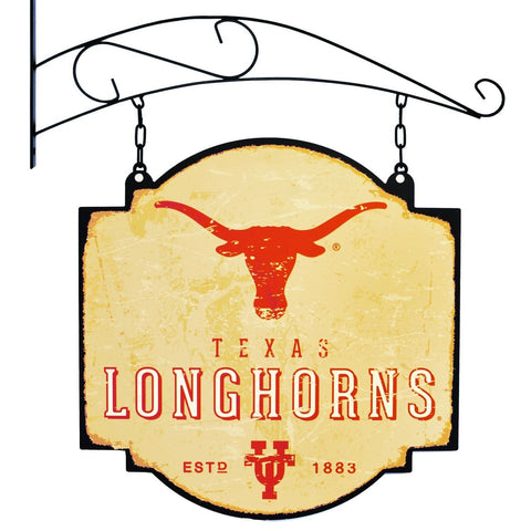"Texas Longhorns Winning Streak Vintage Tavern Pub Bar Metal Sign (16""x16"")"