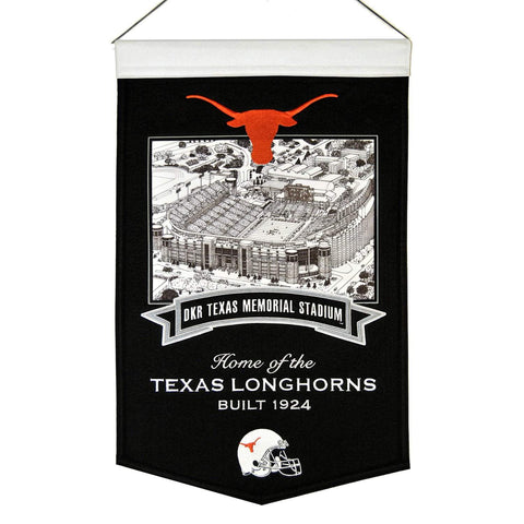 "Texas Longhorns Winning Streak Texas Memorial Stadium Football Banner (15""x20"")"
