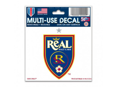 Shop Real Salt Lake MLS WinCraft Sports Removable Ultra Decal / Bumper Sticker