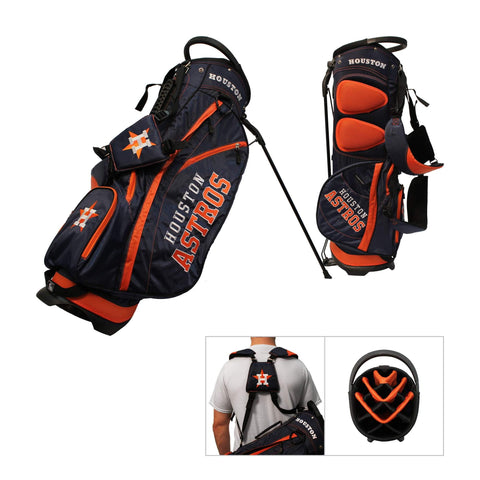 Houston Astros Team Golf Fairway Lightweight 14-Way Top Golf Club Stand Bag