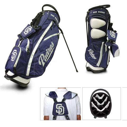 Shop San Diego Padres Team Golf Fairway Lightweight 14-Way Top Golf Club Stand Bag