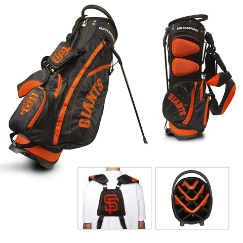 San Francisco Giants Team Golf Fairway Light 14-Way Top Golf Club Stand Bag