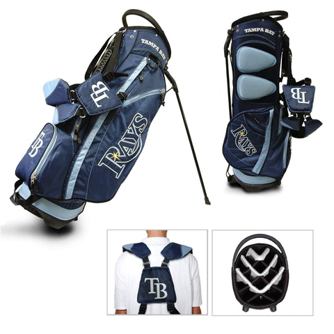Shop Tampa Bay Rays Team Golf Fairway Lightweight 14-Way Top Golf Club Stand Bag - Sporting Up
