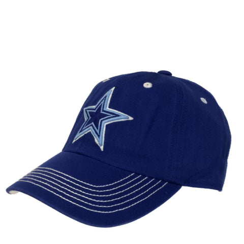 Shop Dallas Cowboys Authentic Blue In-Line Style Fitted Slouch Hat Cap (L)