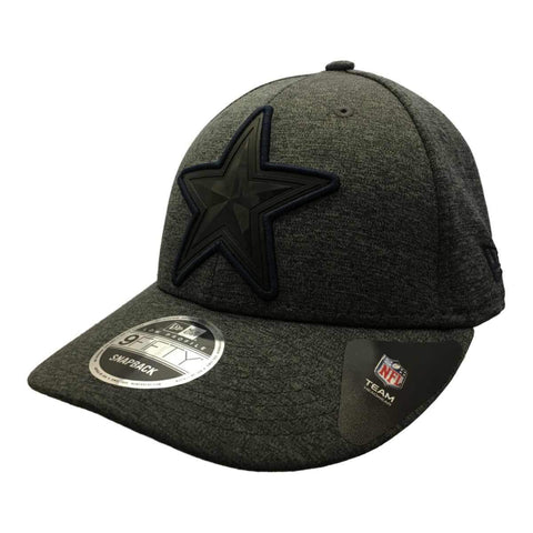 Shop Dallas Cowboys New Era 9Fifty Dark Gray Structured Snapback Baseball Hat Cap
