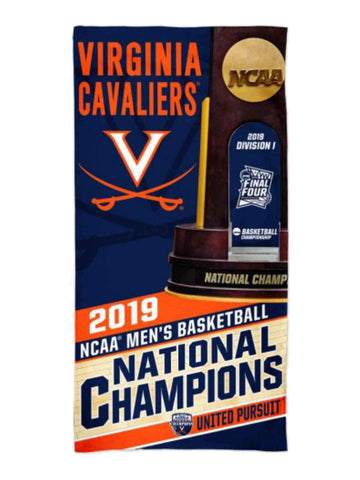 Shop Virginia Cavaliers 2019 NCAA Basketball National Champions Spectra Beach Towel
