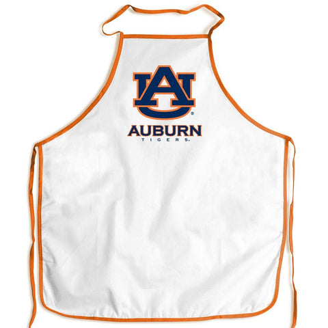 Shop Auburn Tigers WinCraft White Orange Polyester Tailgating Barbeque Cooking Apron