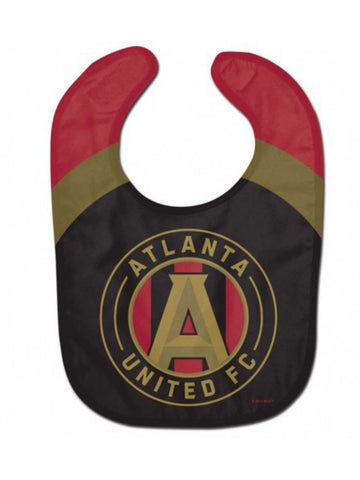 Shop Atlanta United FC WinCraft Red Black Logo All Pro Infant Baby Bib
