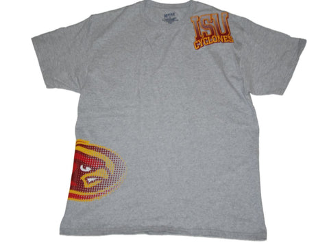Shop Iowa State Cyclones Gear for Sports Ash Gray Variety Logo Cotton T-Shirt (L)
